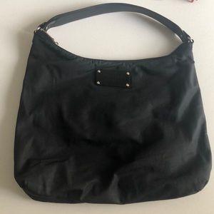 Kate Spade Black Nylon Shoulder Bag